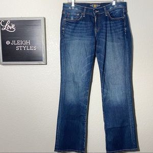 Lucky Brand Classic Rider Dark Wash Bootcut Jeans